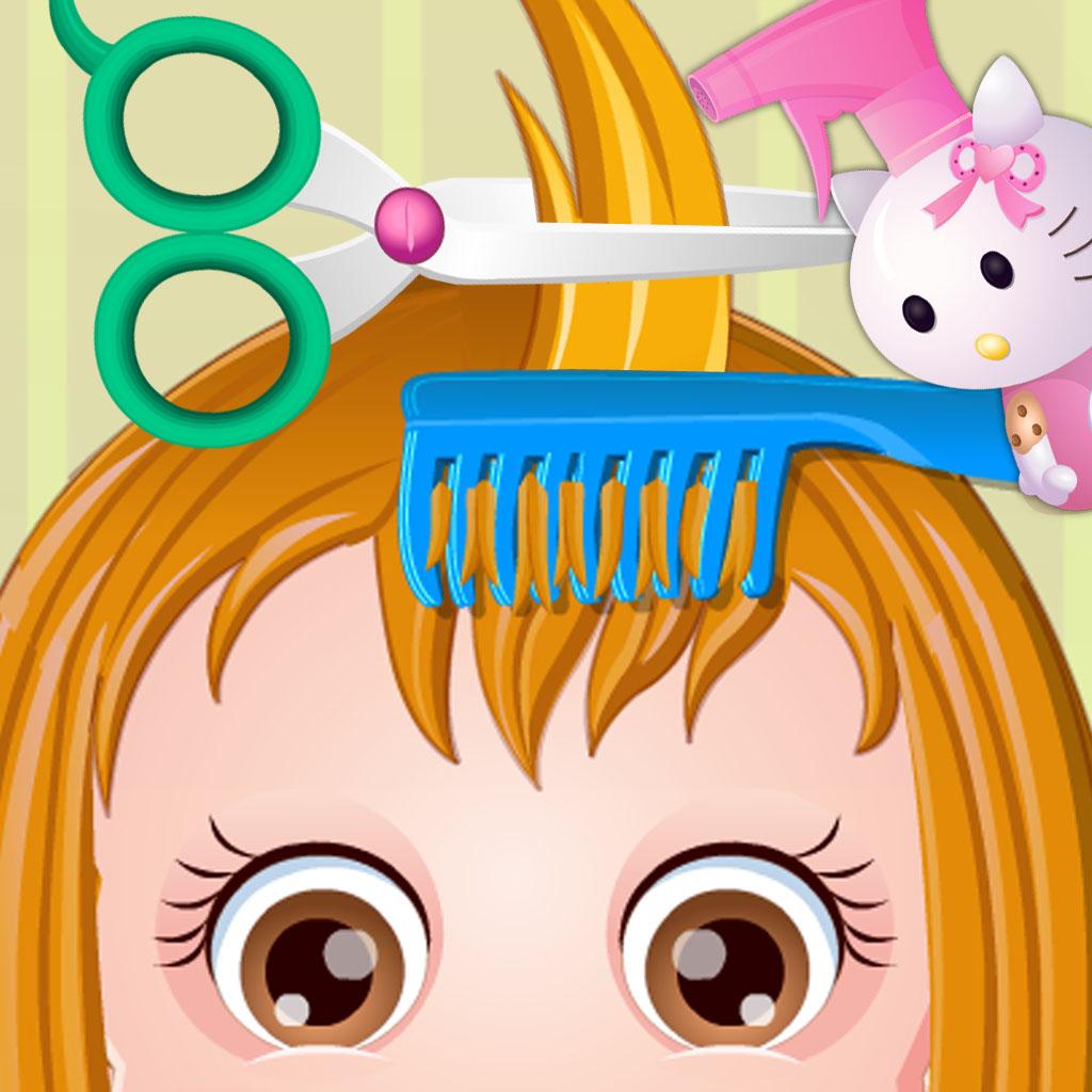 Baby Haircut & Dress up & Bath & Wash Face